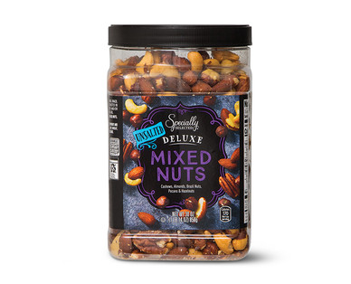 Specially Selected Unsalted Deluxe Mixed Nuts