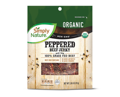 Simply Nature Peppered Beef Jerky