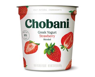 Chobani Strawberry Nonfat Greek Yogurt