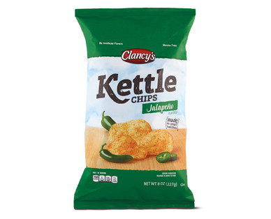 Clancy's Jalapeno Kettle Chips