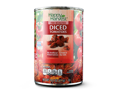 Happy Harvest Fire Roasted Diced Tomatoes