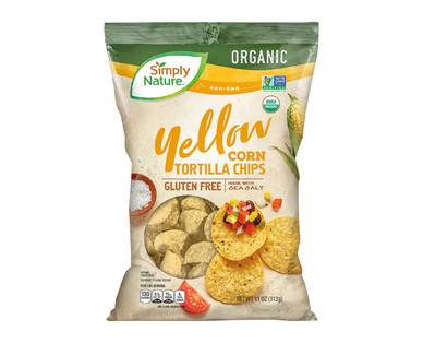 Simply Nature Organic Yellow Corn Tortilla Chips