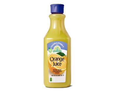 Nature's Nectar Orange Juice with Calcium & Vitamin D