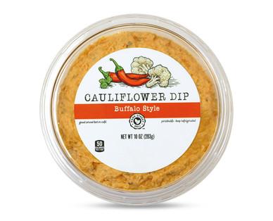 Park Street Deli Cauliflower Dip Buffalo Style- Top View