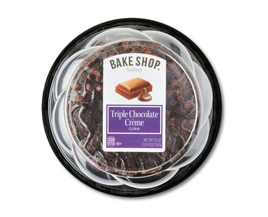 Bake Shop Triple Chocolate Creme Cake