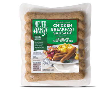 Never Any! Chicken Breakfast Sausage