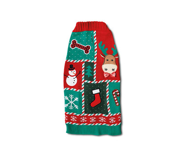 Heart to Tail Holiday Pet Sweater View 4