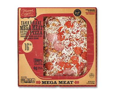 """Mama Cozzi's Pizza Kitchen 16"""" Mega Meat Deli Pizza"""
