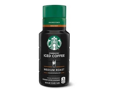 Starbucks Unsweetened Medium Roast Iced Coffee