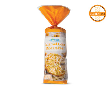 Fit and Active Caramel Corn Rice Cakes