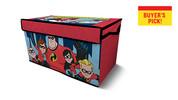 Disney or Marvel Licensed Collapsible Storage Trunk