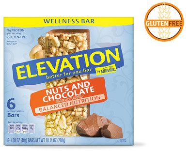 Elevation Nuts and Chocolate Wellness Bars