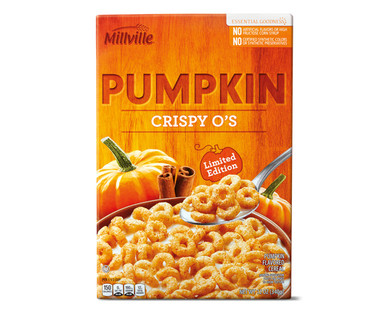 Millville Pumpkin Crispy O's