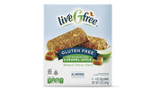 liveGfree Gluten Free Caramel Apple Baked Chewy Bars