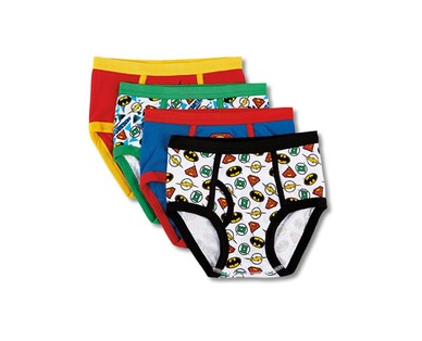 Boys' 8 Pack or Girls' 10 Pack Character Underwear View 1