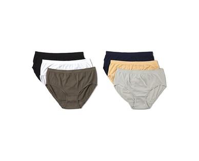 Serra Ladies' 6-Pack Seamless Underwear View 4