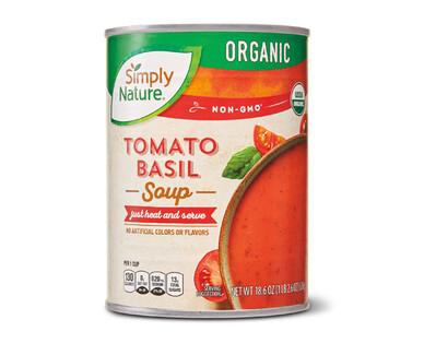 Simply Nature Organic Tomato and Basil Soup
