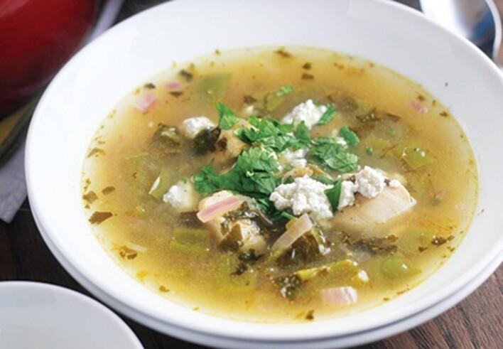 Verde Chicken Tortilla Soup