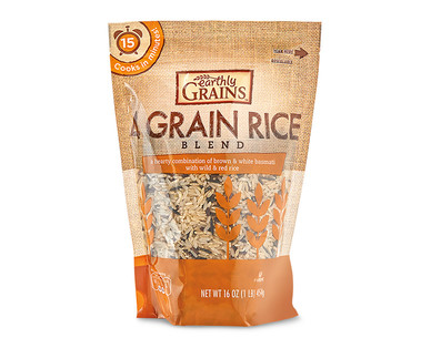 Earthly Grains 4 Grains or Quinoa & Rice Blend View 1