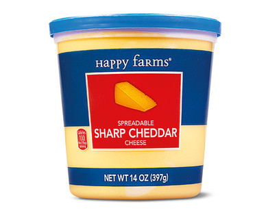 Happy Farms Sharp Cheddar Cheese Cup