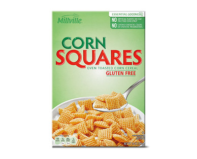 Millville Corn Squares Cereal
