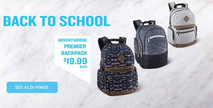 Back to School, See ALDI Finds