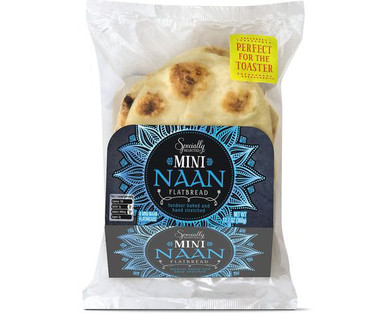 Specially Selected Mini Naan Bread 8 ct.