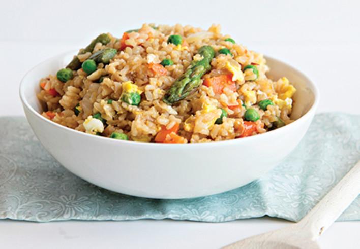Spring Veggie Fried Rice