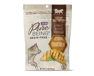 Pure Being Grain Free Chicken Dog Treats