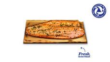 Fresh Maui Pineapple Cedar Plank Salmon Side