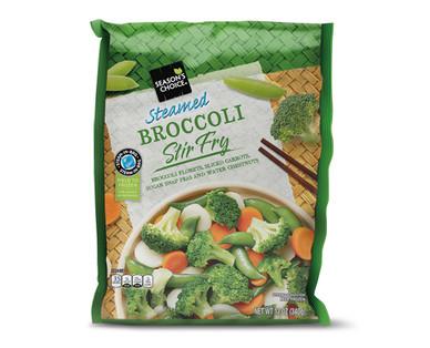 Season's Choice Steamed Broccoli Stir Fry