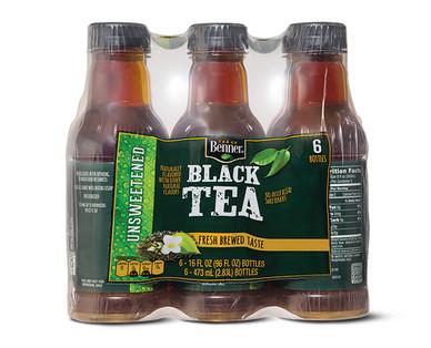 Benner Premium Iced Tea Unsweet 6 Pack