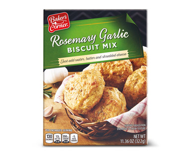 Baker's Corner Rosemary Garlic Biscuit Mix