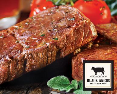 Black Angus Boneless Beef Eye of Round Steak
