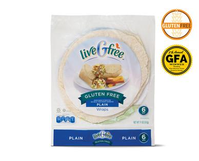 Gluten Free Plain Wraps