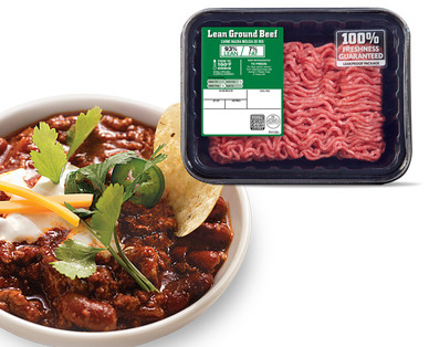 93 Lean Fresh Ground Beef Aldi Us