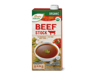 Simply Nature Organic Beef Stock