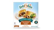 liveGfree Gluten Free Southwest Veggie Stuffed Sandwiches