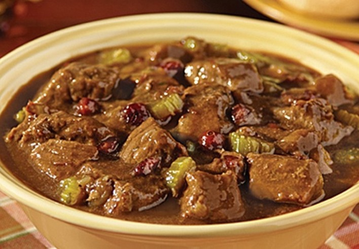 Cranberry Beef Stew