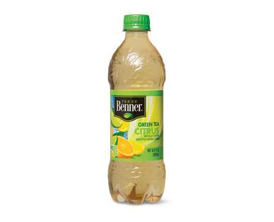Benner Green Tea with Citrus Bottle