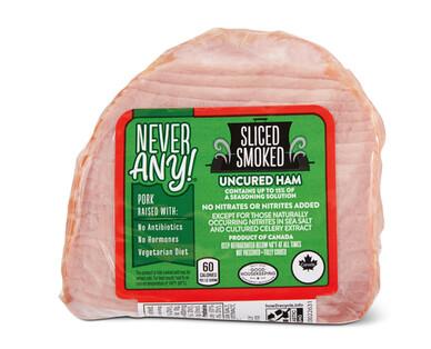 Never Any! ABF Quarter Sliced Hardwood Smoked Ham