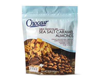 Choceur Milk Chocolate Covered Sea Salt Caramel Almonds