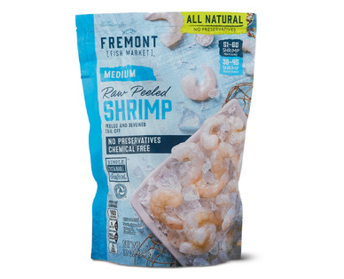 Fremont Fish Market Medium Raw Peeled Shrimp