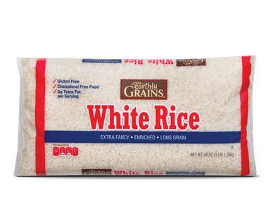 Earthly Grains Long Grain White Rice
