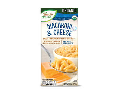 Simply Nature Organic Macaroni & Cheese
