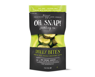 Oh Snap! Pickling Co. Dilly Bites 6 Pack