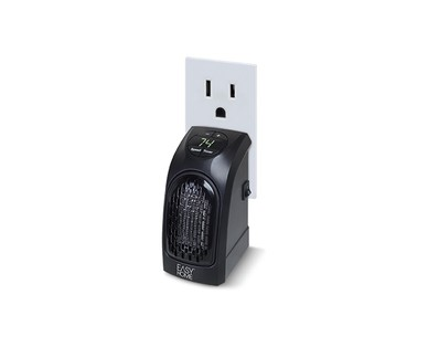 Easy Home Wall Outlet Ceramic Space Heater Aldi Us