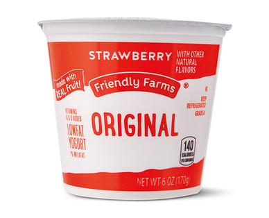 Friendly Farms Lowfat Strawberry Yogurt