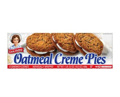 Little Debbie Oatmeal Crème Pies
