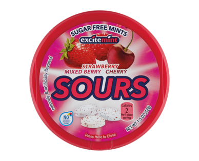 Excitemint Sugar Free Red Sours